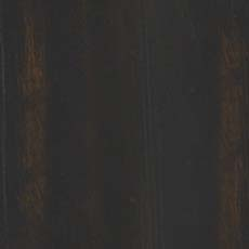 Heirloom Black (783): Black paint, white glaze, heavily distressed, worn edges with brown wood rub through.