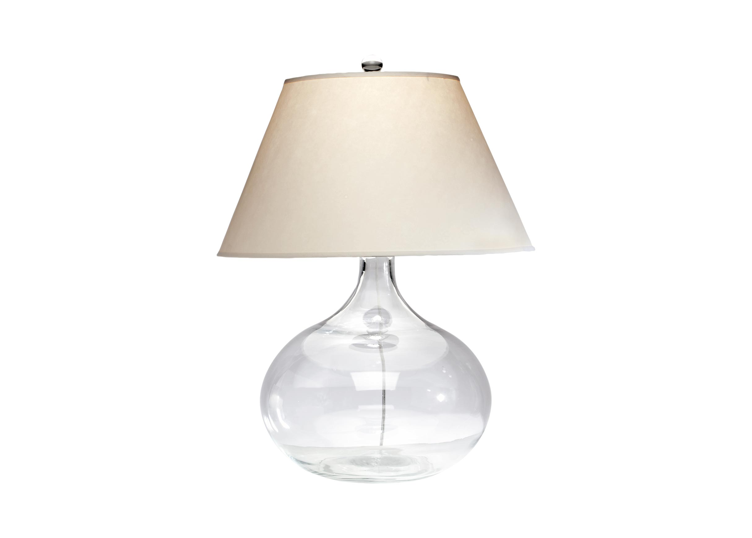 Clear Glass Table Lamp Table Lamps Ethan Allen